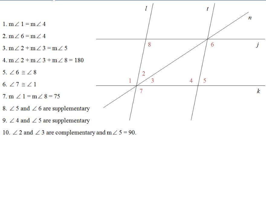 parallel and perpendicular slopes worksheet