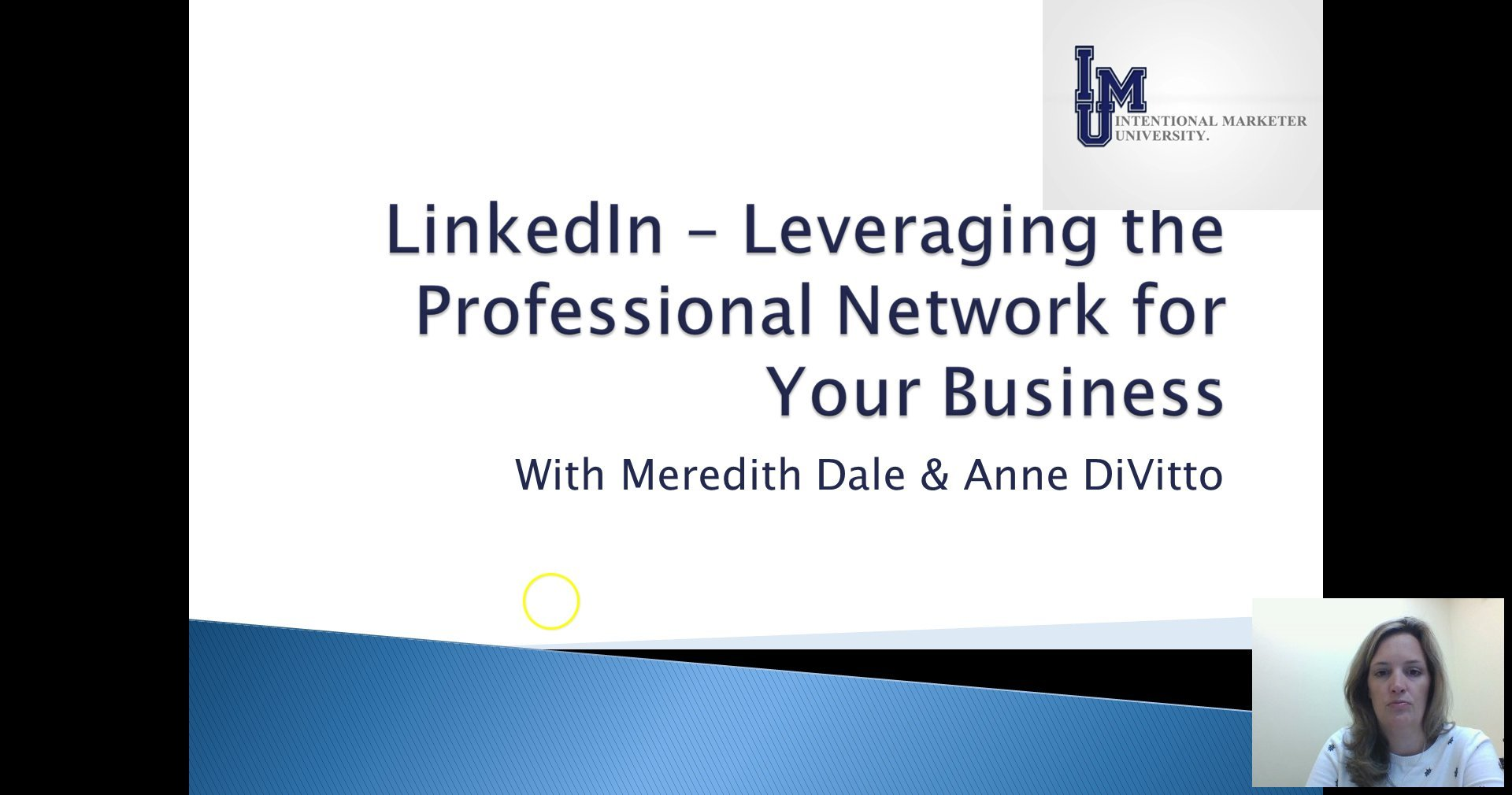 [Screencast: LinkedIn For Business]
