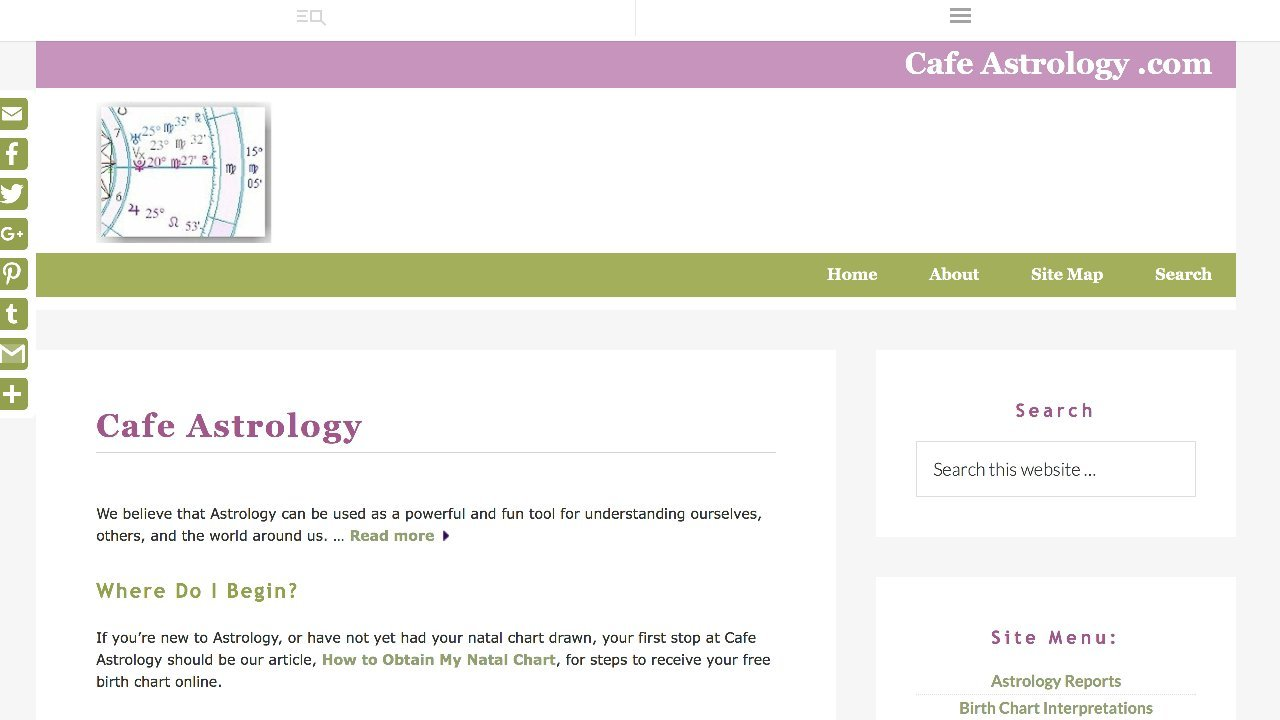 Welcome to Cafe Astrology's Free Report Section