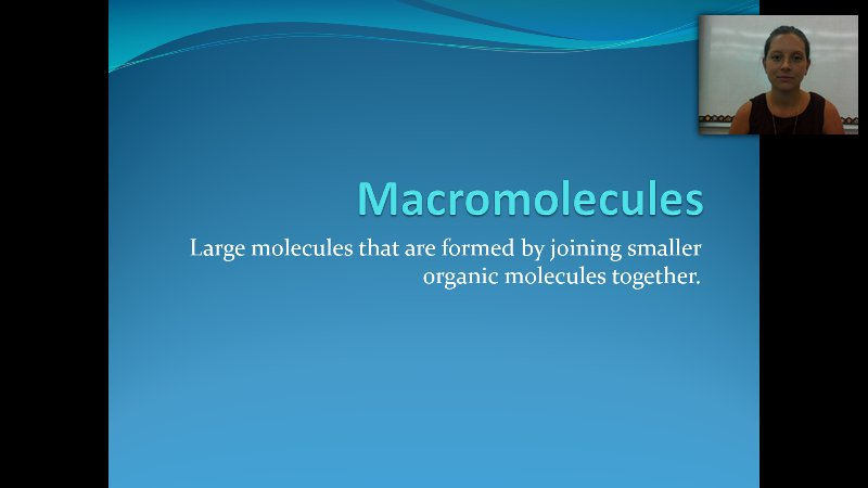 experimenting with biological macromolecules in various In the years since miller's work, many variants of his procedure have been tried  virtually all the small molecules that.