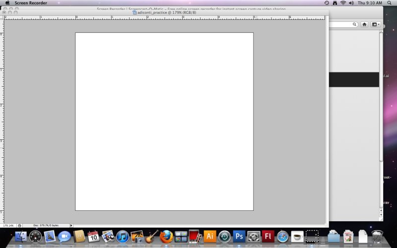 [Screencast: Introduction to Photoshop's Workspace]