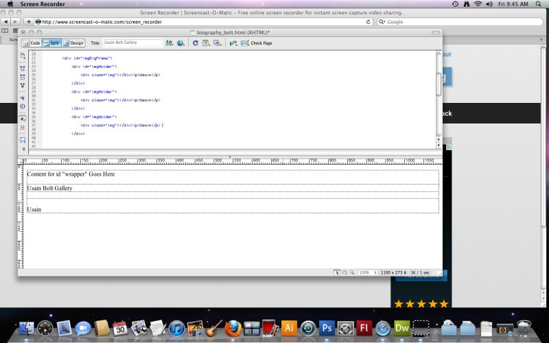 [Screencast: Final One Column CSS -- Part 2]