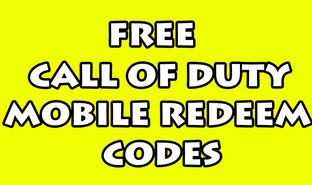 2020 Free Call of Duty Mobile Redeem Codes Generator No ...