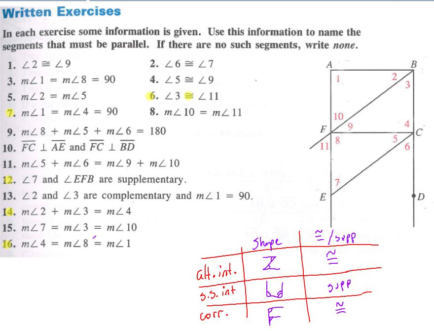 Timmins Matthew Unit 3 Parallel Lines and Polygons – Parallel Lines and Transversal Worksheet