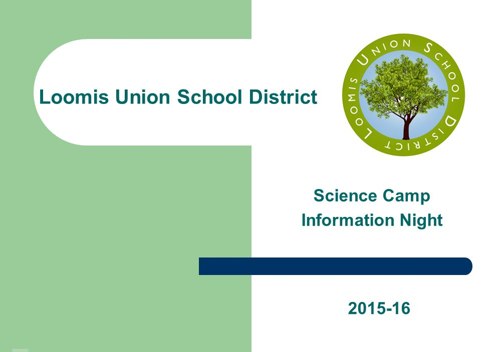 [Screencast: Science Camp Information]