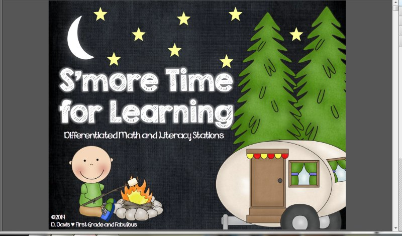 [Screencast: S'more Time for Learning]