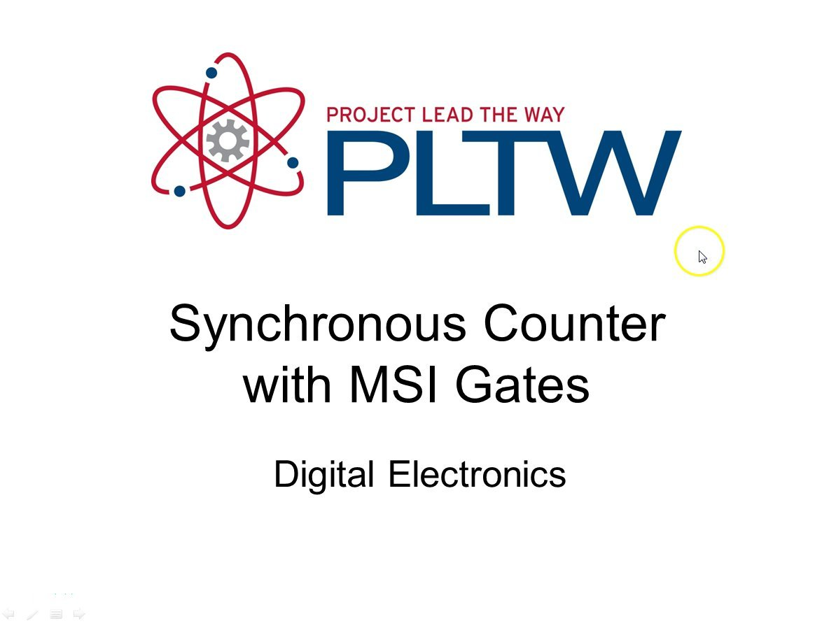 MSI Synchronous Counters
