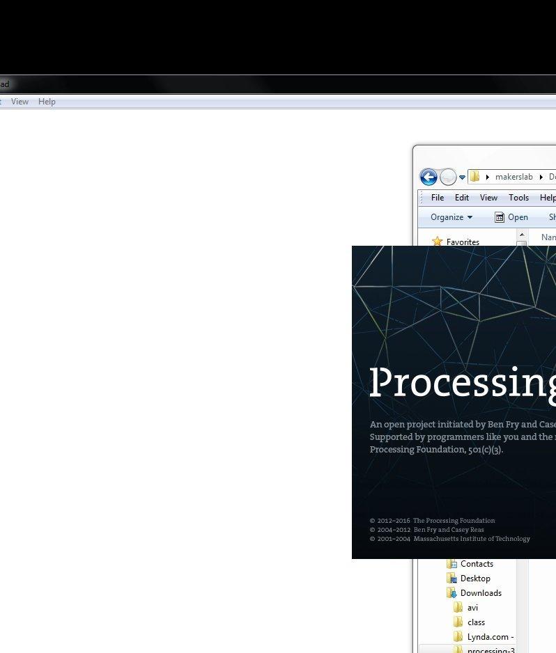 Processing IDE Glitchiness