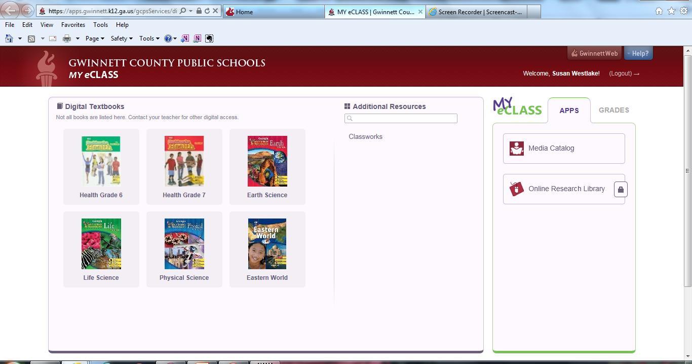 My E Clas >> Media Catalog Myeclass
