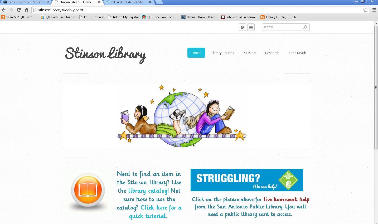 [Screencast: Citing a Website Using EasyBib]