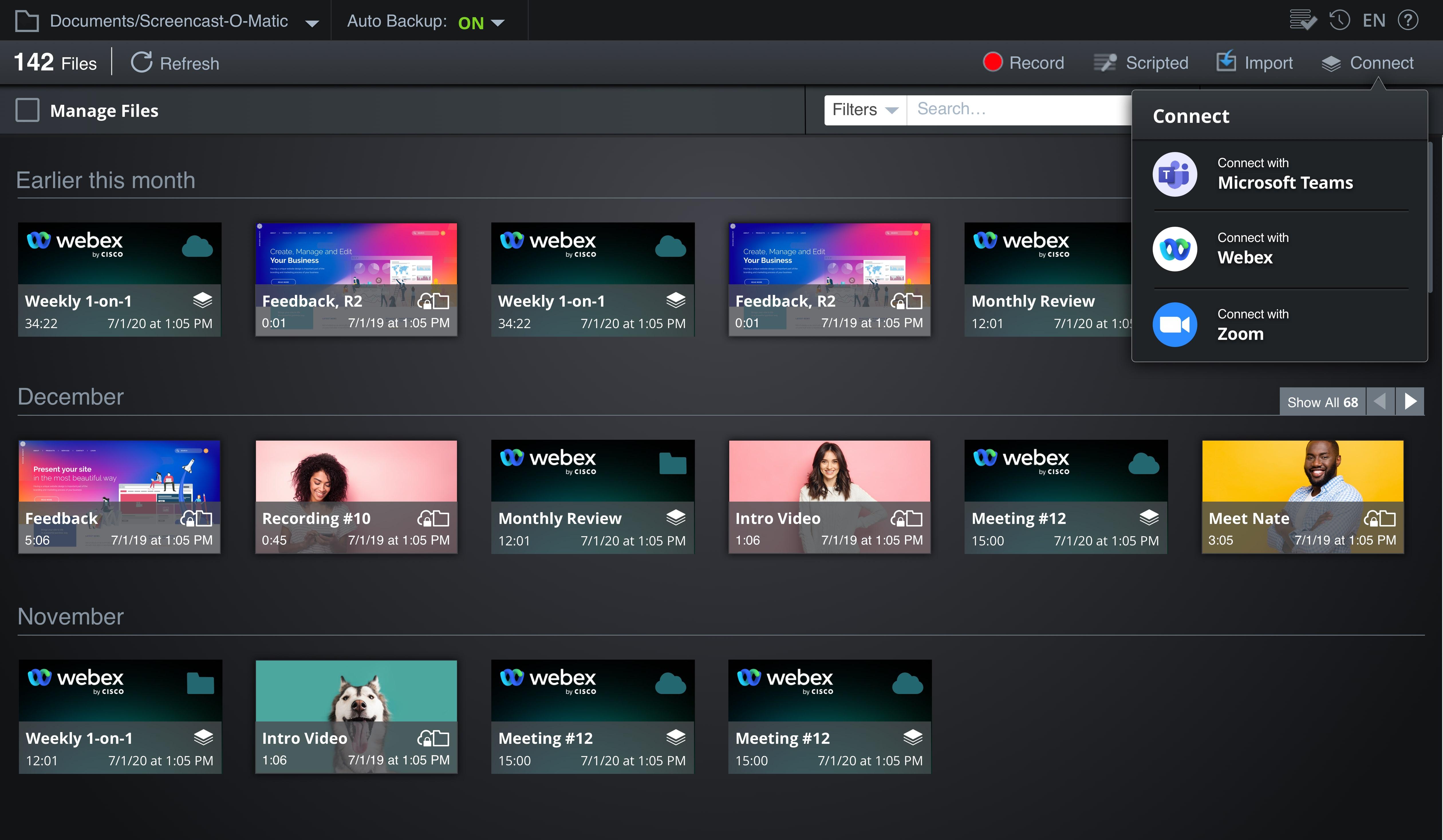 Webex Video Editor