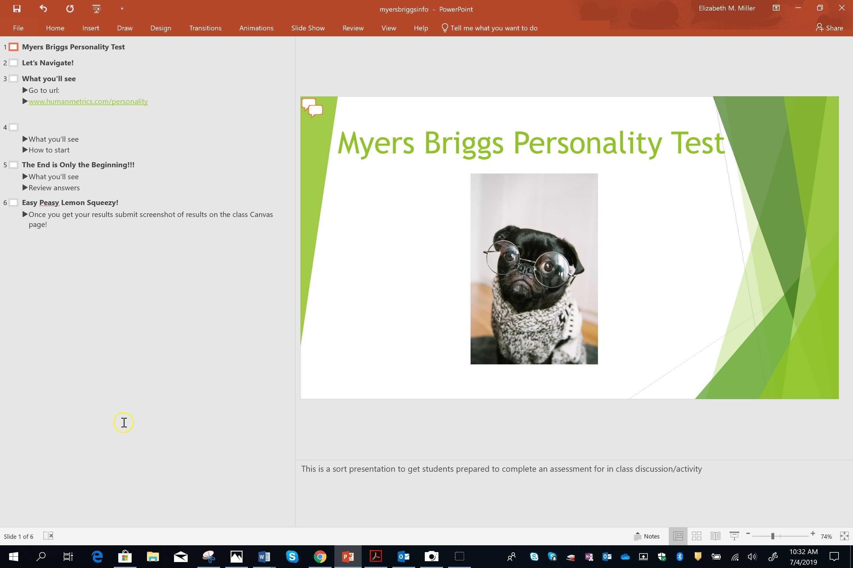Powerpoint screencast