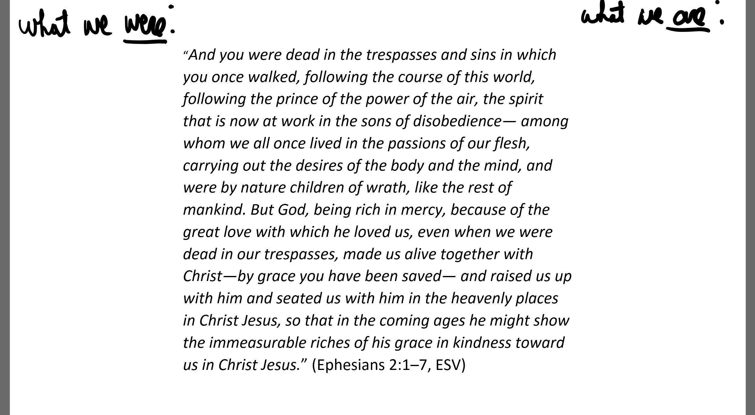 [Screencast: The Power of the Gospel]