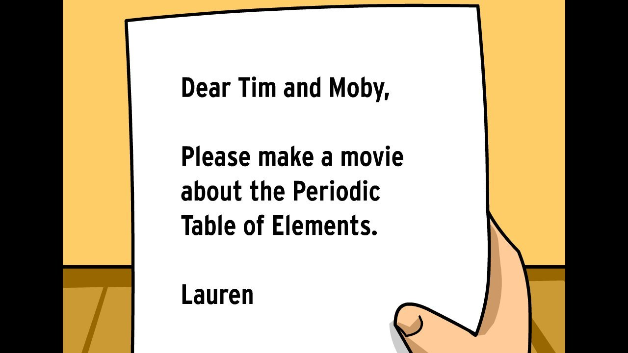 periodic table of the elements tim moby