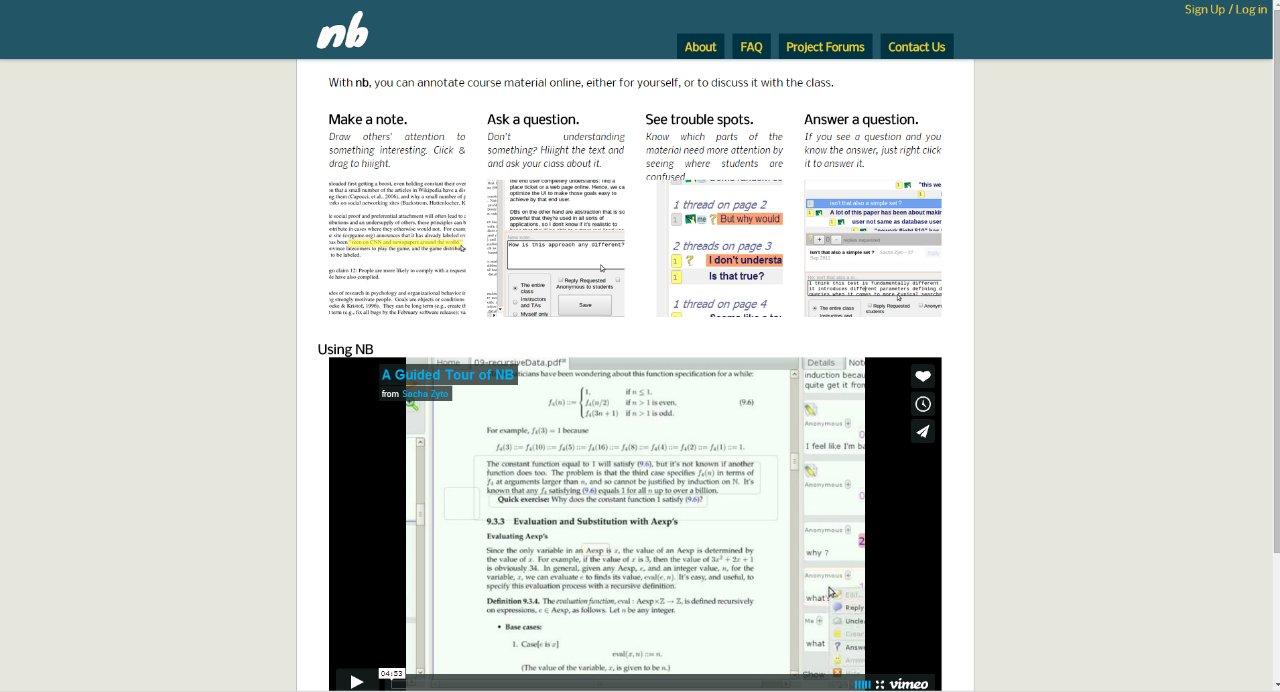 [Screencast: nb annotation tool]