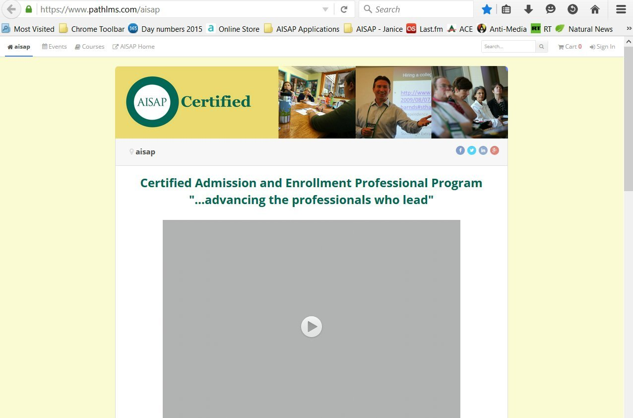 How to Sign In to CAEP Level 1