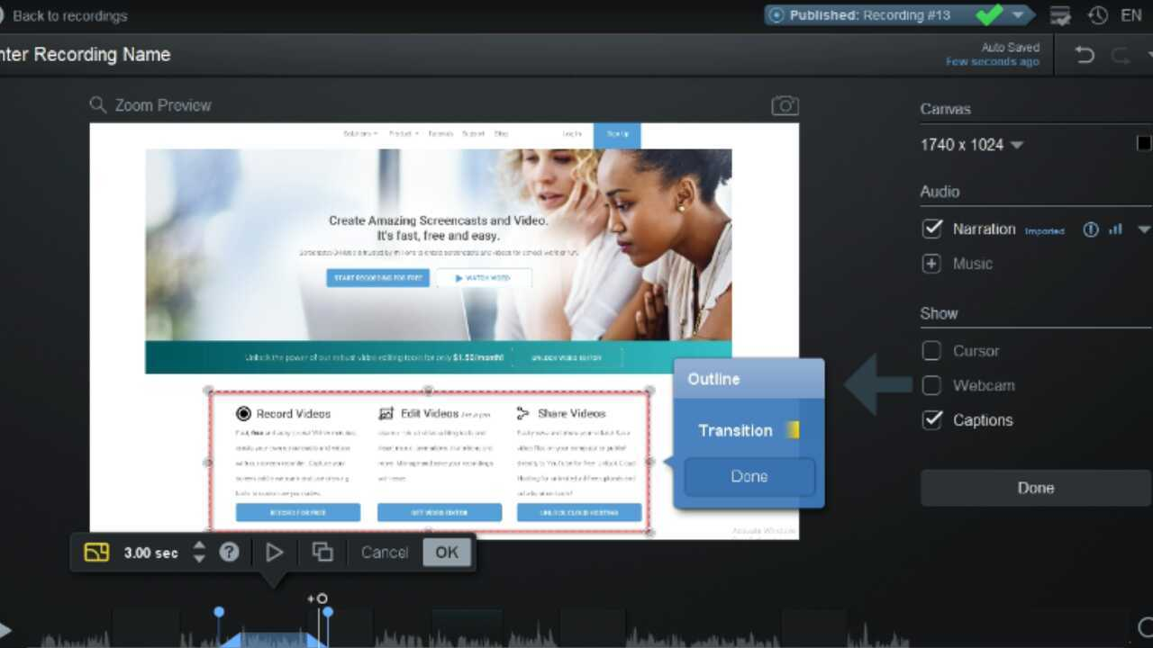 Overlay Outline – Screencast-O-Matic / Support