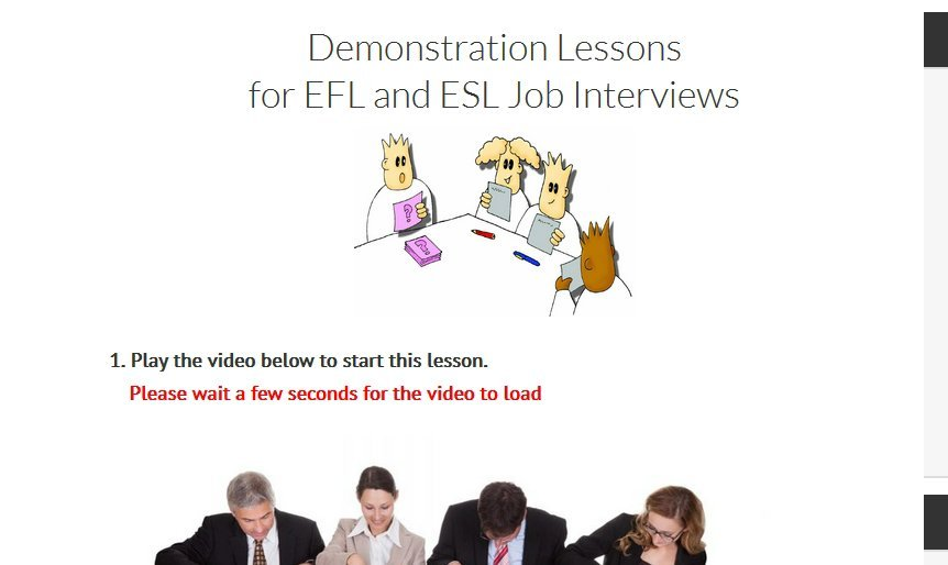 TEFL Demonstration Lessons | How to do a TEFL Demo