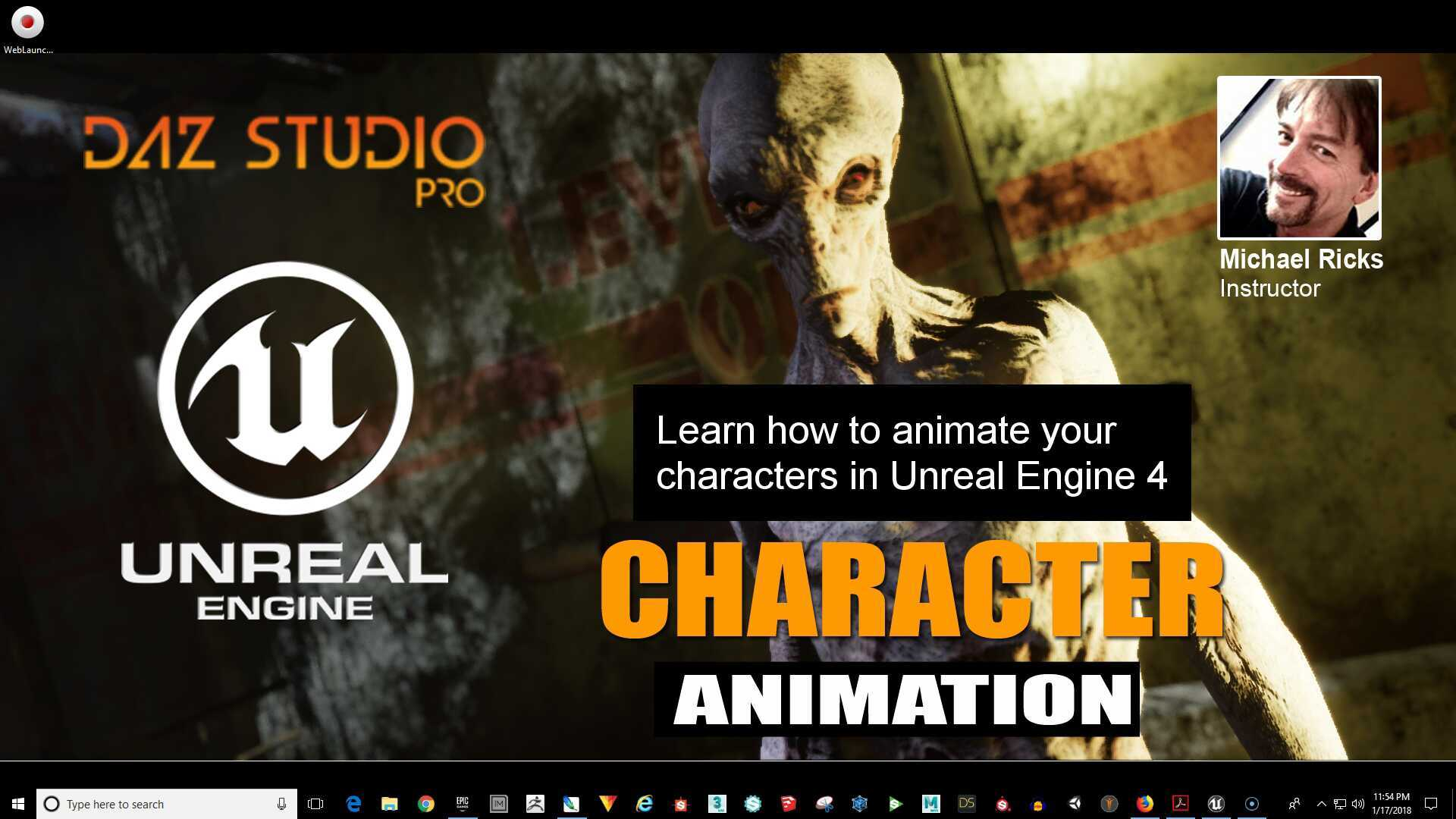 Animate Your Character In Unreal Engine 4 - Introduction