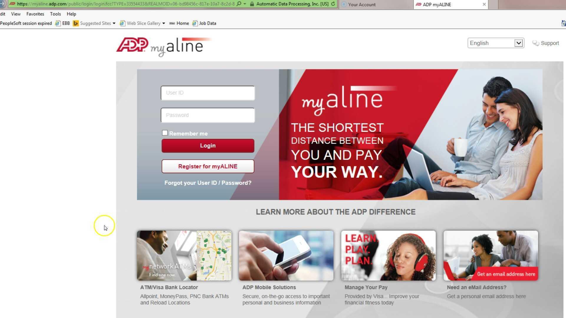 Direct Deposit Adp My Aline