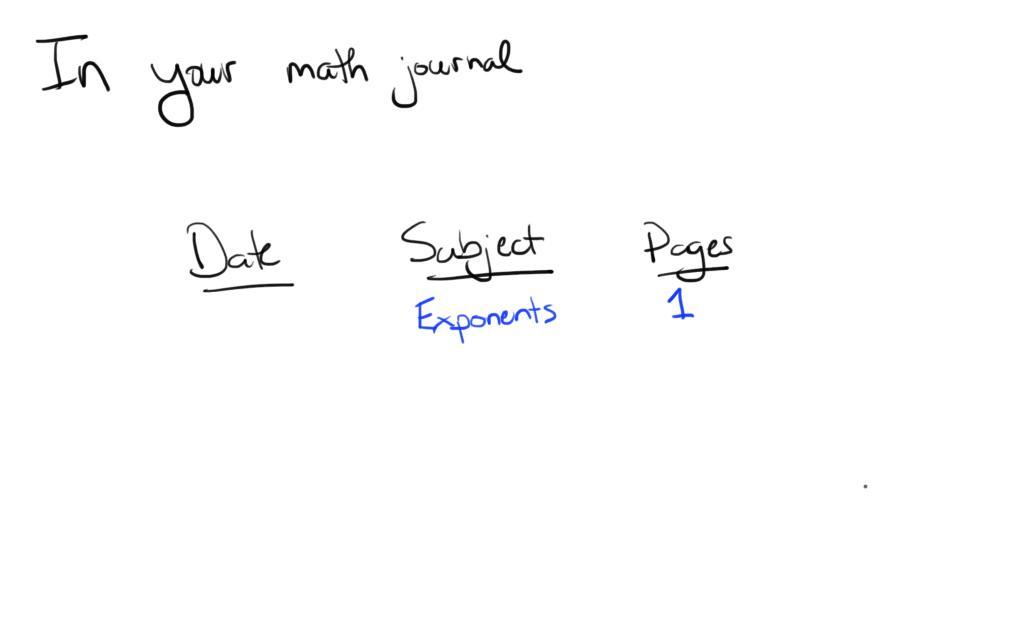 [Screencast: Exponents Pre-AP]