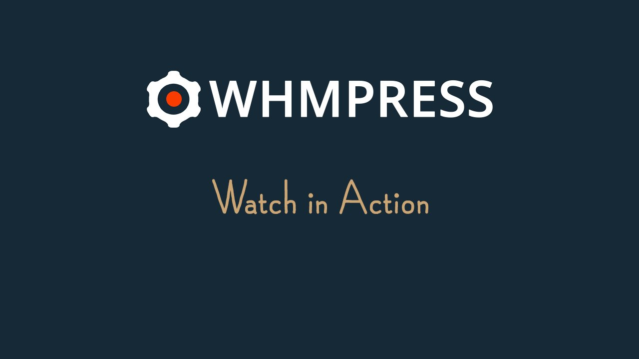 [Screencast: WHMpress Introduction]