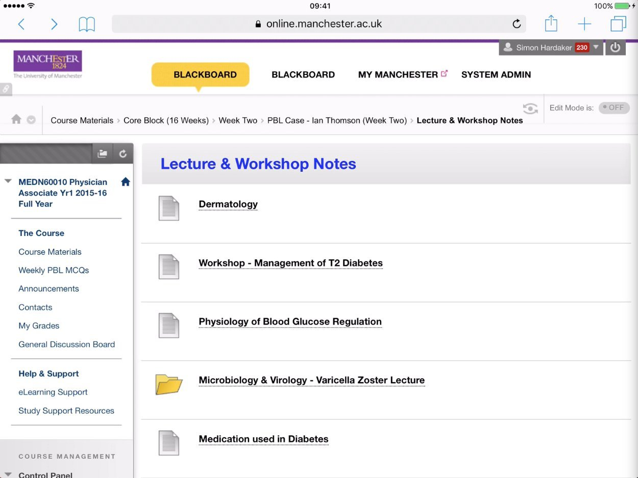 Viewing PowerPoint Files from Blackboard on an iPad