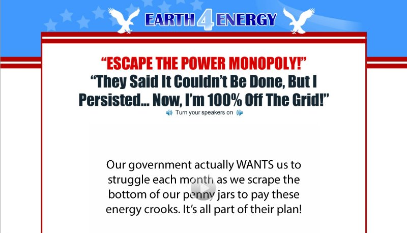 [Screencast: Earth 4 Energy]