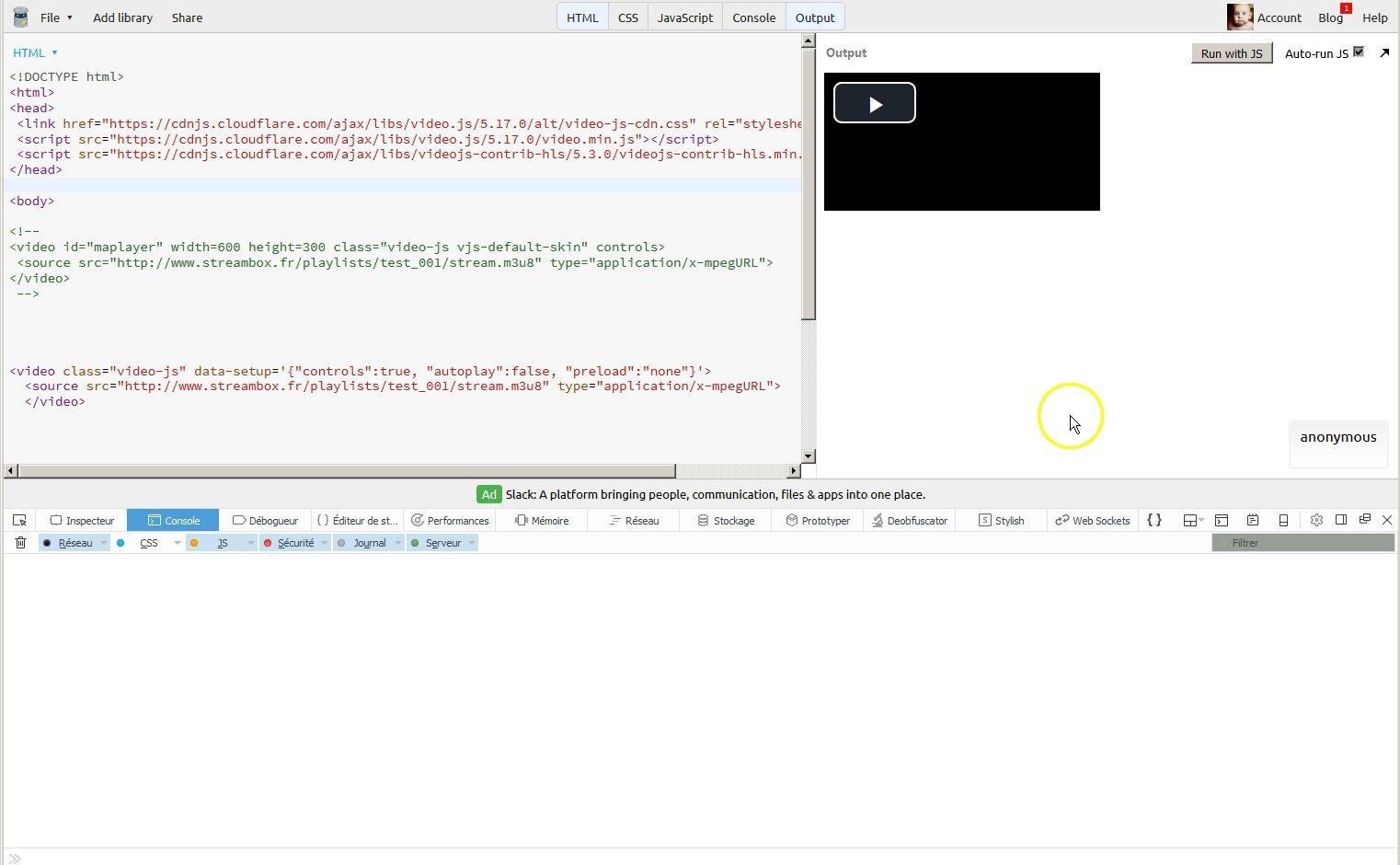 Video JS/videojs-contrib-hls bug with m3u8